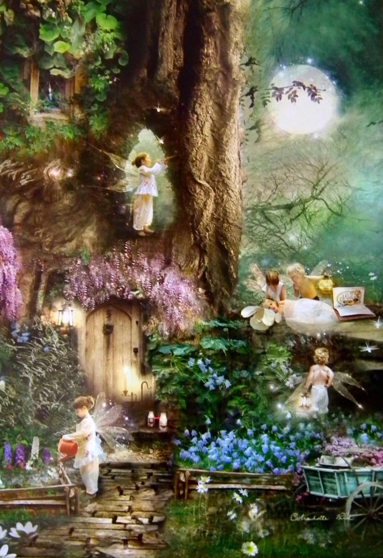 Fairy Card - Moonrise