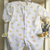 Swimmies Printed Sleepsuit by Kissy Kissy