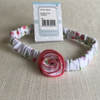 Red Berry Baby Headband by Kissy Kissy