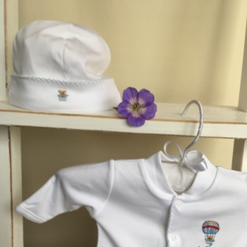 LydaBaby Pima Cotton Hat in Teddy Design
