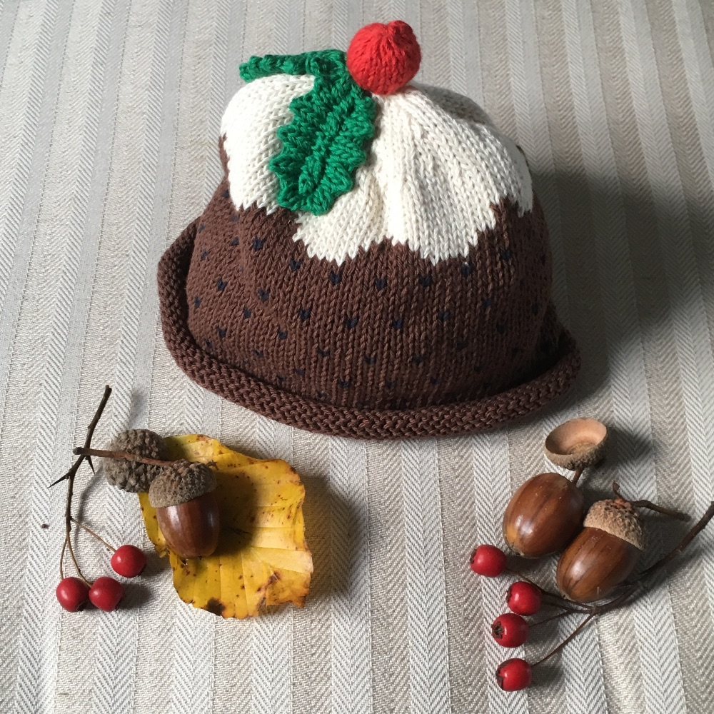 Merry Berries Cotton Knitted Hats