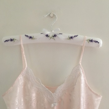 Padded Coathangers - Lavender