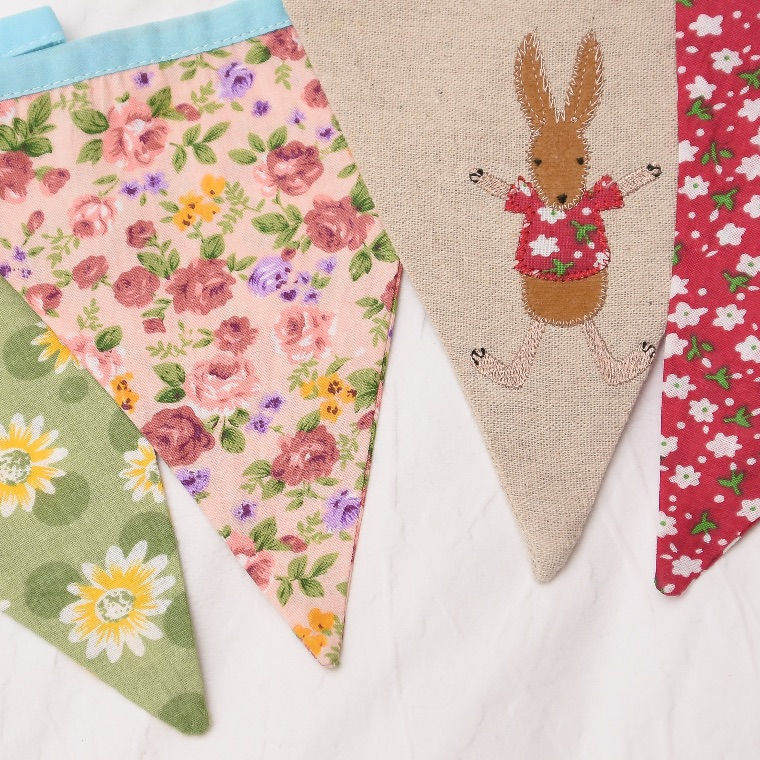 Rabbit Bunting by Powellcraft
