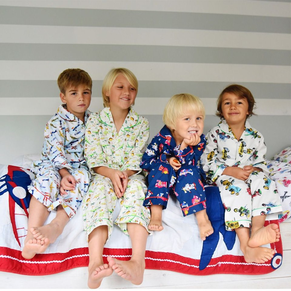 Boy's Cotton Pyjamas