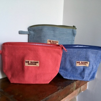 Bill Brown Make Up Bags