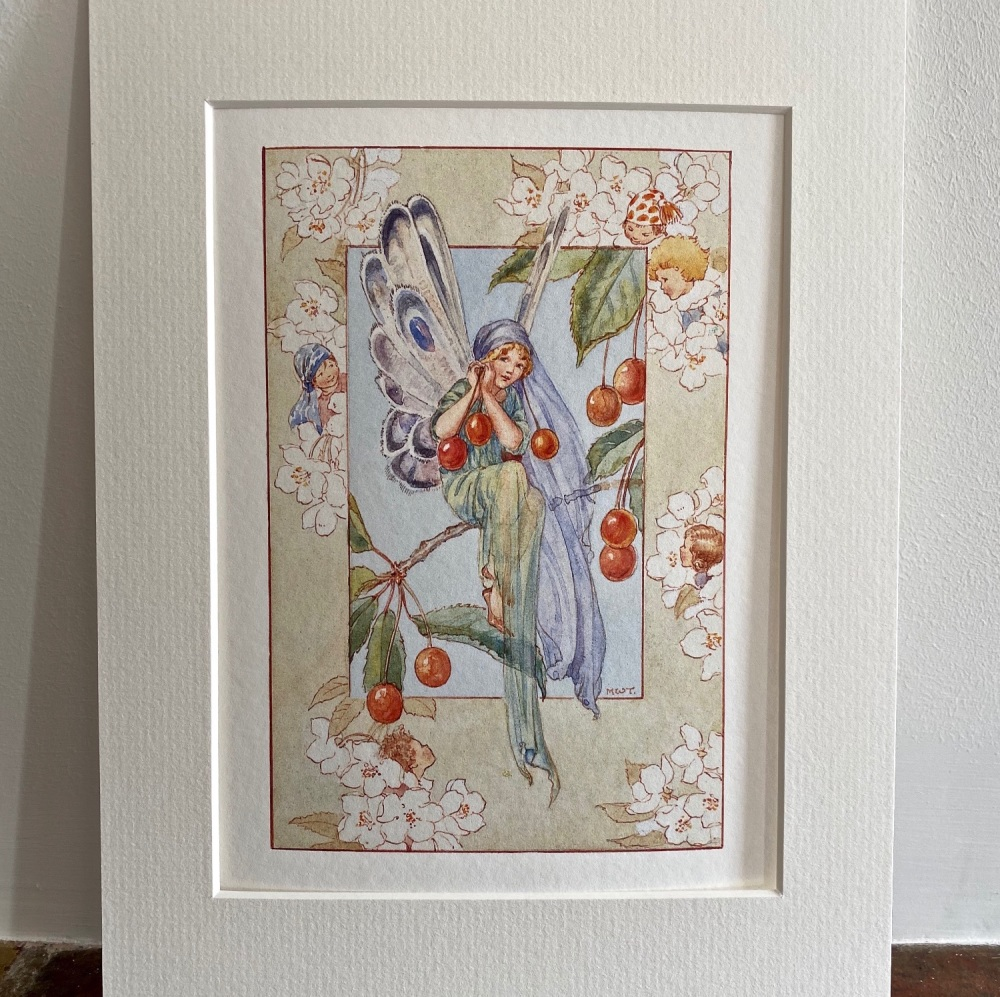 Mounted Print - The Cherry Fairy