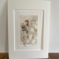 Mounted Print - The Honesty Fairy