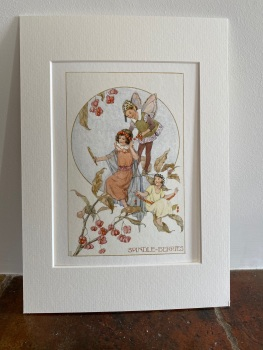 Mounted Print - The Spindle Berry Fairies