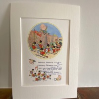Mounted Print - Humpty Dumpty