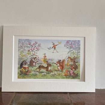 Mounted Print - The Pixie Circus