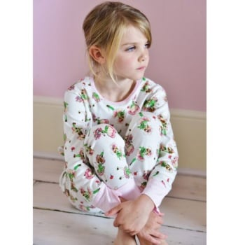 Girls's Jersey Pyjamas - Garden Fairy