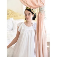 Short Sleeved Cotton Nightdress - Nadine
