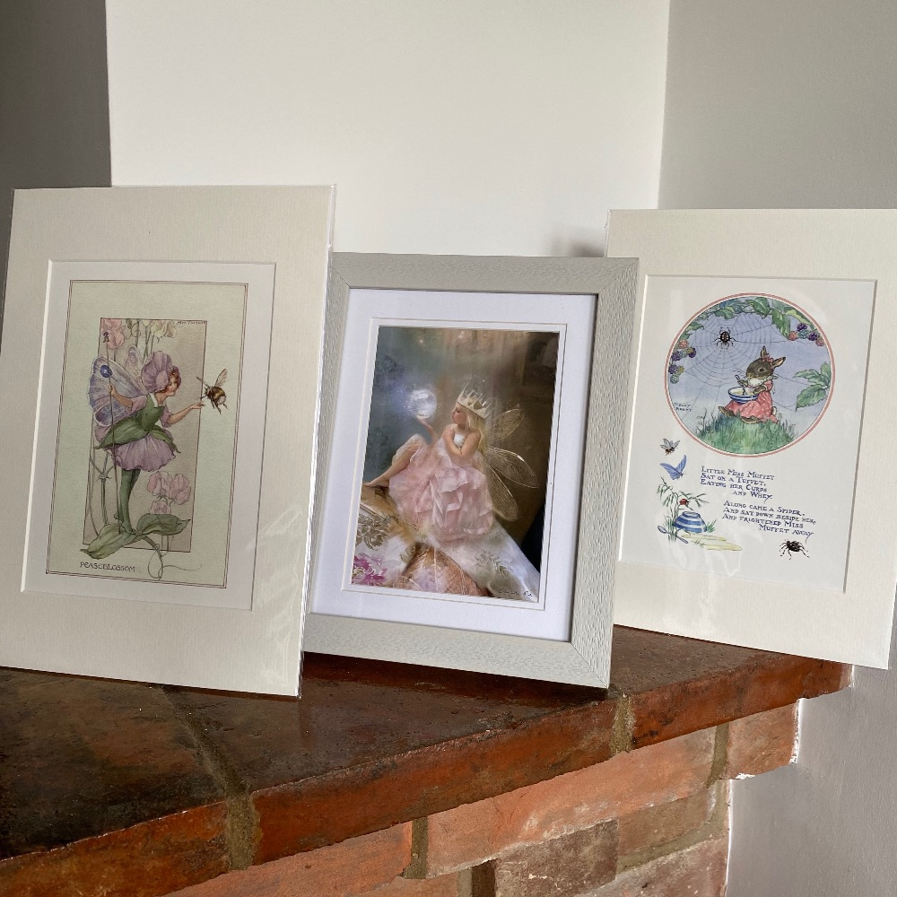 Framed & Mounted Fairy Pictures