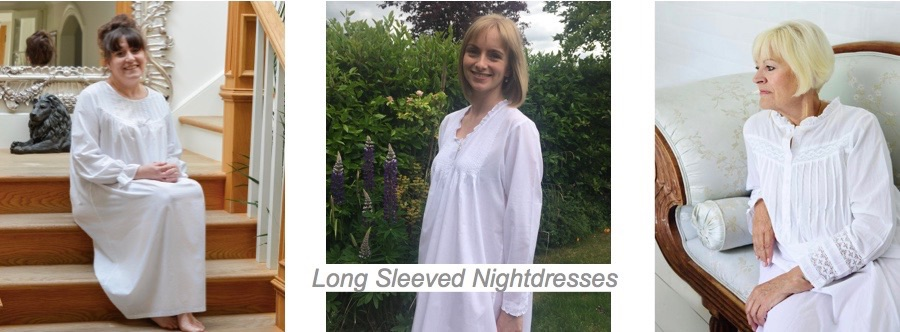 Long Sleeved Nightdresses