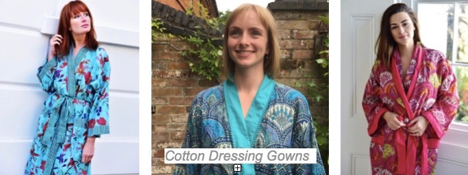 Cotton Dressing Gowns