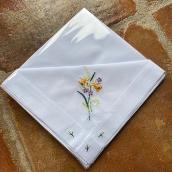 Cotton Handkerchiefs - Jonquil