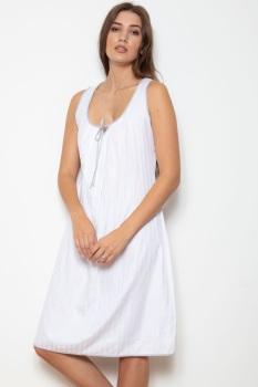 Sleeveless Cotton Nightdress - Jenny
