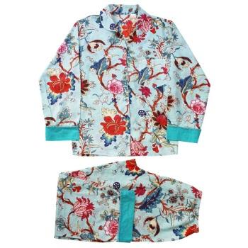 Cotton Pyjamas - Blue Floral