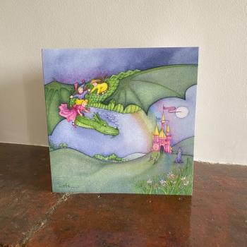 Birthday Card - The Magical Kingdom