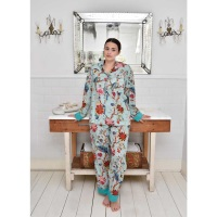 Cotton Pyjamas - Blue Floral