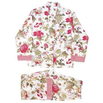 Cotton Pyjamas - Crimson Garden