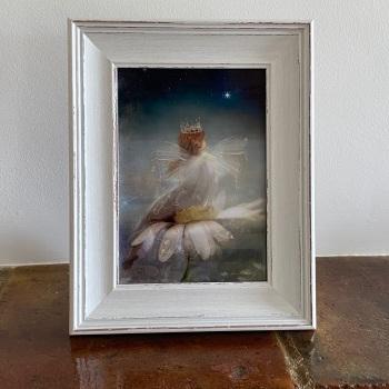 "Framed Fairy Picture - ""A Starlit Garden"""
