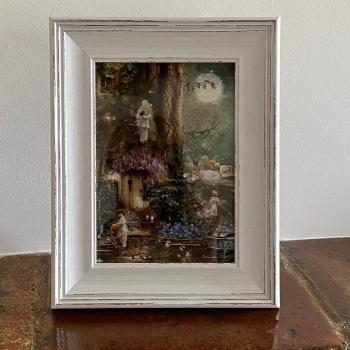 "Framed Fairy Picture - ""Moonrise"""