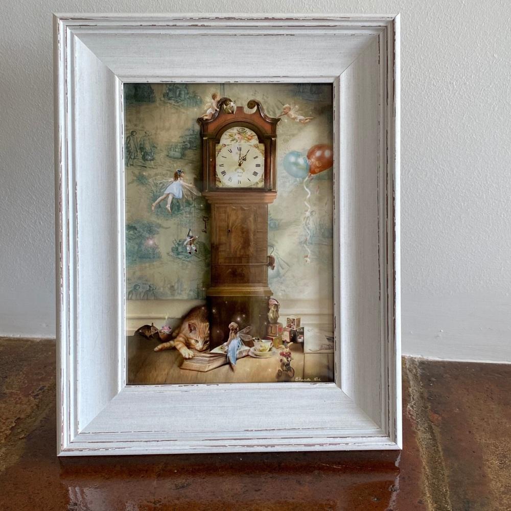 Framed Fairy Print - Hickory Dickory Doc
