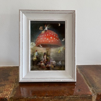 """Framed Fairy Picture - """"The Wish"""""""