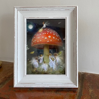 Framed Fairy Picture - A Midsummer's Eve