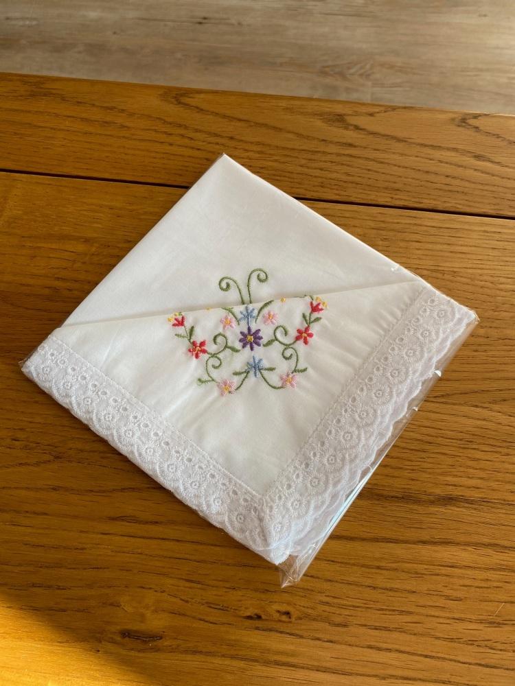 Cotton Handkerchiefs - Butterfly