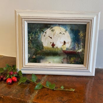 """Framed Fairy Picture - """"Fairytale"""""""