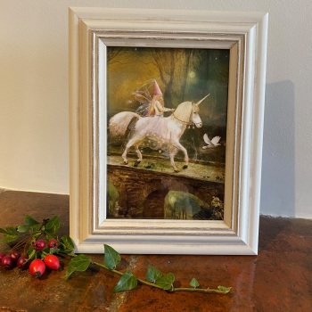 """Framed Fairy Picture - """"The Fairy Princess"""""""