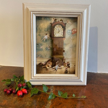 Framed Fairy Picture - Hickory Dickory Doc