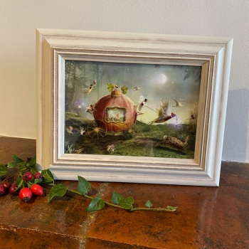 Framed Fairy Picture - Moonlit Procession