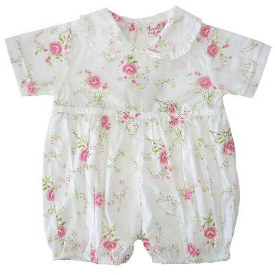 Baby Cotton Romper - Rosie