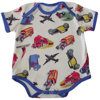 Babygro Vest - Vintage Transport