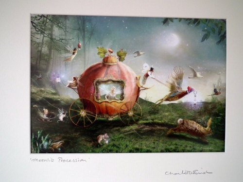 Fairy Print - Moonlit Procession