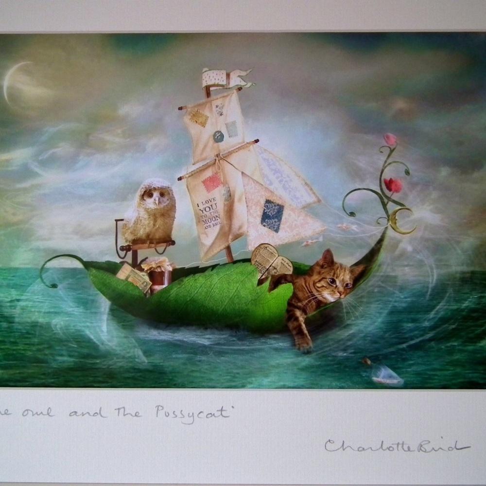 Fairy  Print - The Owl & The Pussycat