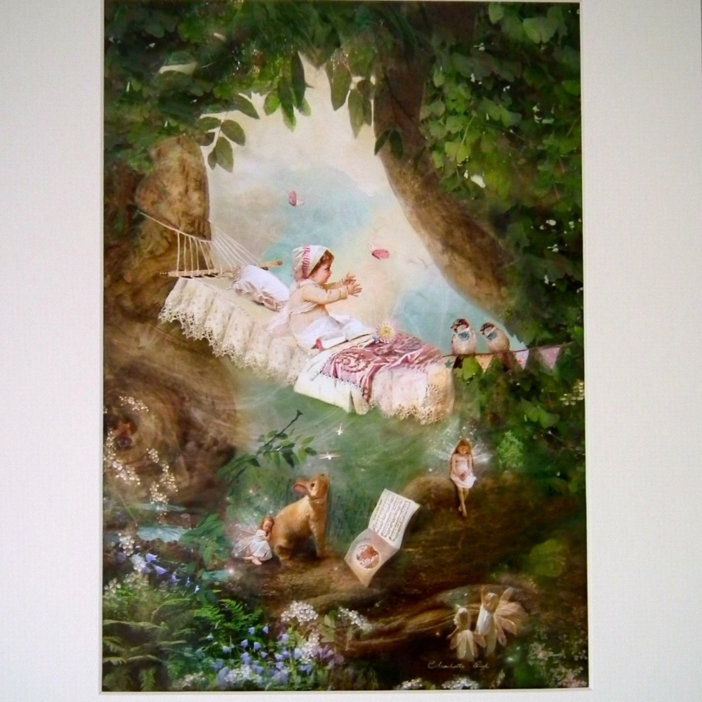 Fairy Print - Rock a Bye Baby