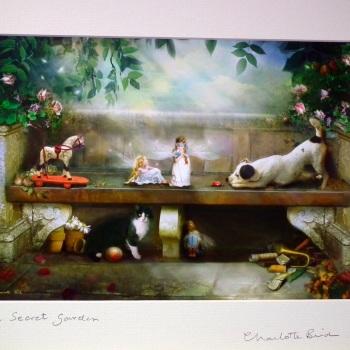 Fairy Print - The Secret Garden