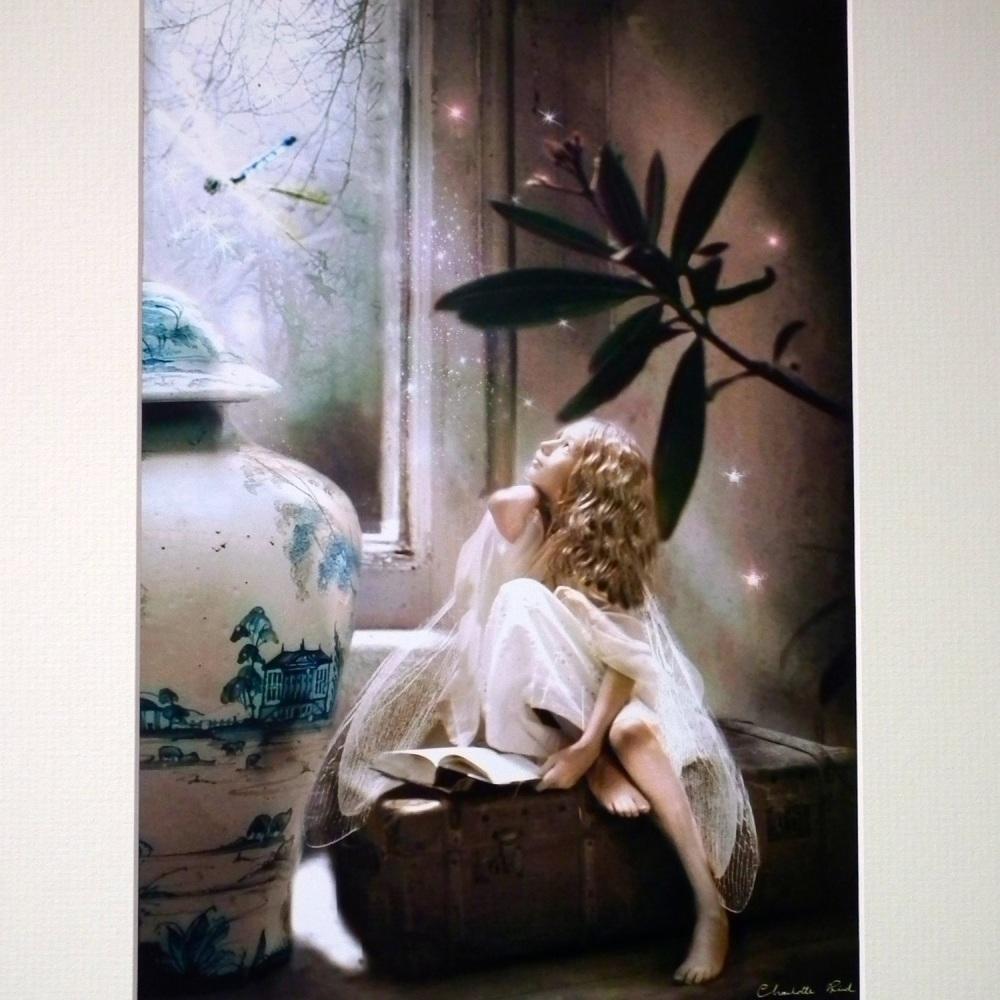 Fairy Print - Star Gazing