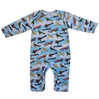 Baby Jumpsuit - Vintage Plane