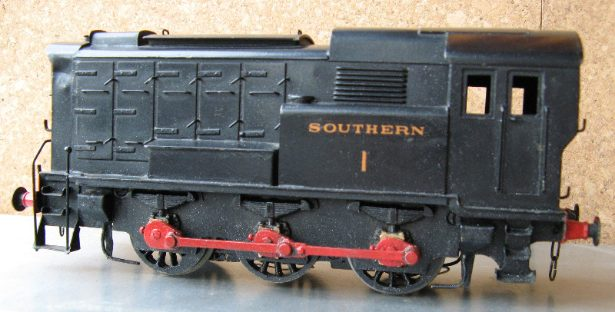 Exley Diesel Shunter