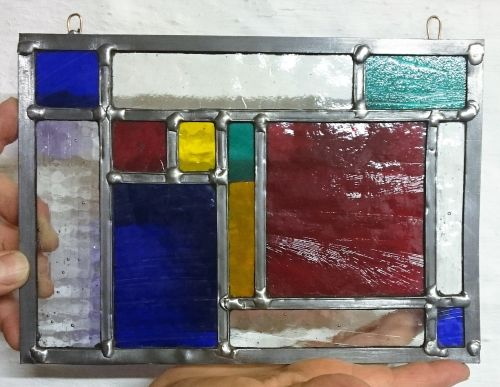 321 Introduction to Stained Glass - 1 Day Course Saturday 13th January 2018
