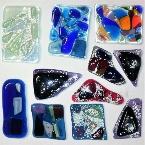 PRIVATE BOOKING - Fused Glass Pay As You Go Half Day Session - Sunday 19th