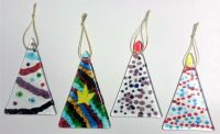 493b Making Fused Glass Christmas Decorations - Saturday 14th December 2019, 2 - 5pm