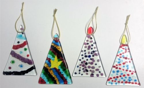 398 making fused glass christmas decorations saturday 1st december 2018 2 5pm