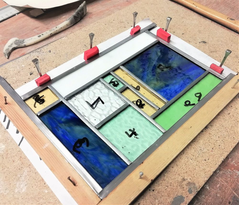 492 Introduction to Leaded Stained Glass - 1 Day Course Saturday 14th Decem