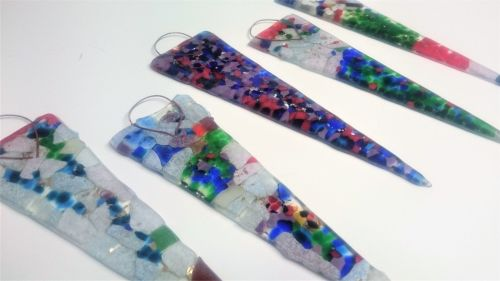 An Afternoon of Fused Glass Christmas Decorations
